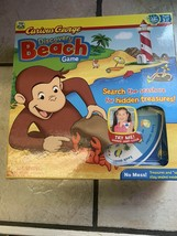 Curious George Discovery Beach Board Game Complete with Instructions Sha... - $24.27