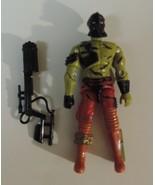 GI Joe / Cobra 1989 Evader driver Darklon vintage action figure - Complete - $15.00