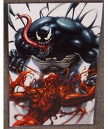 Marvel Spider-Man Venom vs Carnage Glossy Print 11 x 17 In hard Plastic ... - $24.99