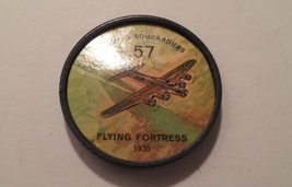 Jello Picture Discs -- # 57  of 200 - The Flying Fortress - $10.00
