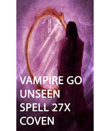 FULL COVEN 27X VAMPIRE'S SHIELD GO UNSEEN PROTECTED MAGICK W JEWELRY Witch  - $44.00