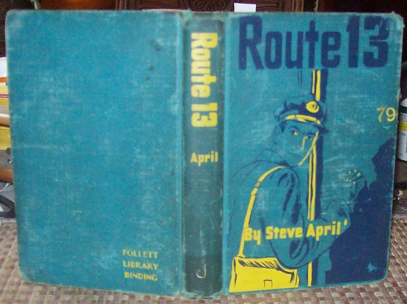 Route 13 by Steve April 1954 HB ( Len Zinberg ) (Ed Lacy) Postal Carrier