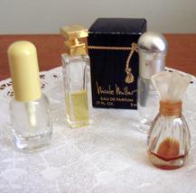 Perfume miniature bottles & box miscellaneous - $8.50