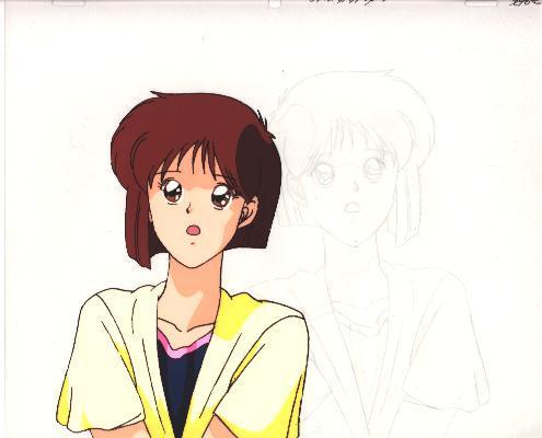 """Ashita e Free Kick """"Mizuho Aritaka"""" Anime Cel (0248)"""