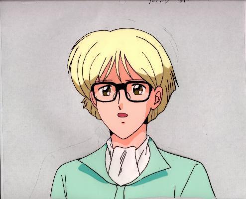 """Ashita e Free Kick """"Roberto"""" Anime Cel (0255)"""