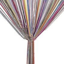 TRIXES String Dew Drop Curtain - Glitter Tassel – Multicoloured - Door o... - $7.91