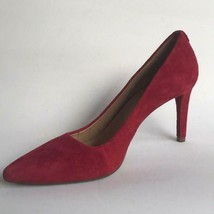 Michael Kors Womens Suede Pointed Toe Pumps 7.5M Red - $36.19