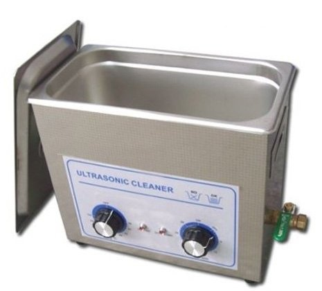 Gowe 6.5L 40HZ 150w 110V/220V Ultrasonic Cleaner Stainless Steel Washing Machine