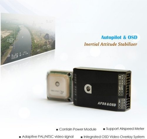 Gowe Inertial Attitude Measurement Instrument, Integrate with OSD Module,added A