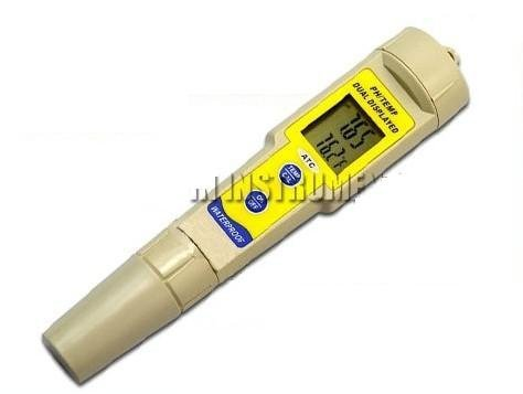 Gowe Digital PH Meter Tester Temperature Meter Pen Type Accuracy +-0.01pH Waterp
