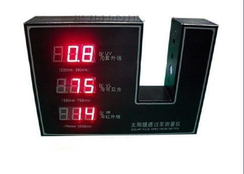 Gowe Solar Film Transmission Meter transmittance tester Visible Infrared UV Test