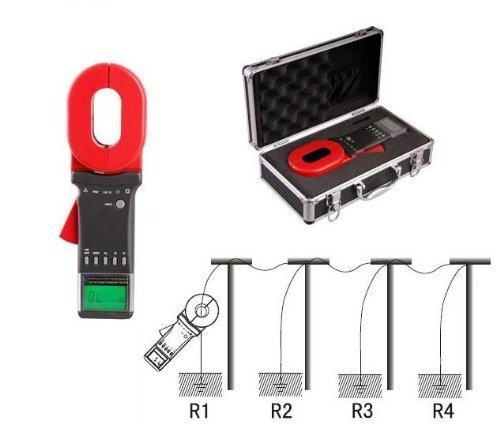 Gowe G2000C+ Clamp Earth Resistance Tester, Clamp size: 6532 (mm), Resistance Ra