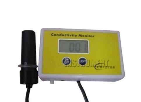 Gowe Aquarium Conductivity Tester METER Analyzer Range0.00-1999uS ATC 5.6V Power