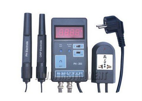 Gowe Digital pHORP Controller meter tester analyzer with setting and controlling