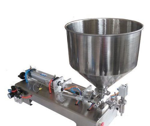 Gowe Liquid or Paste Filling Machine, Pneumatic, Semi Filler, Single Head with C