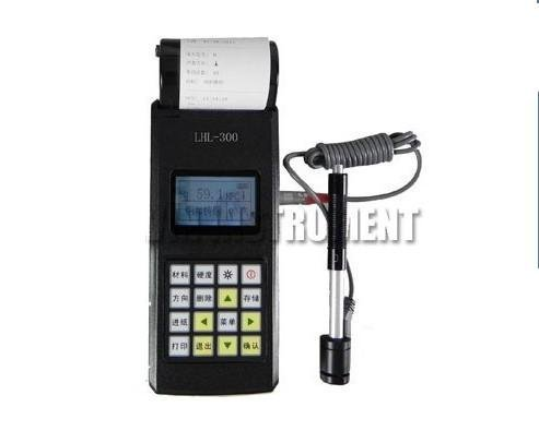 Gowe Portable Leeb Hardness Tester Meter Built-in printer USB Interface HL,HRC,H