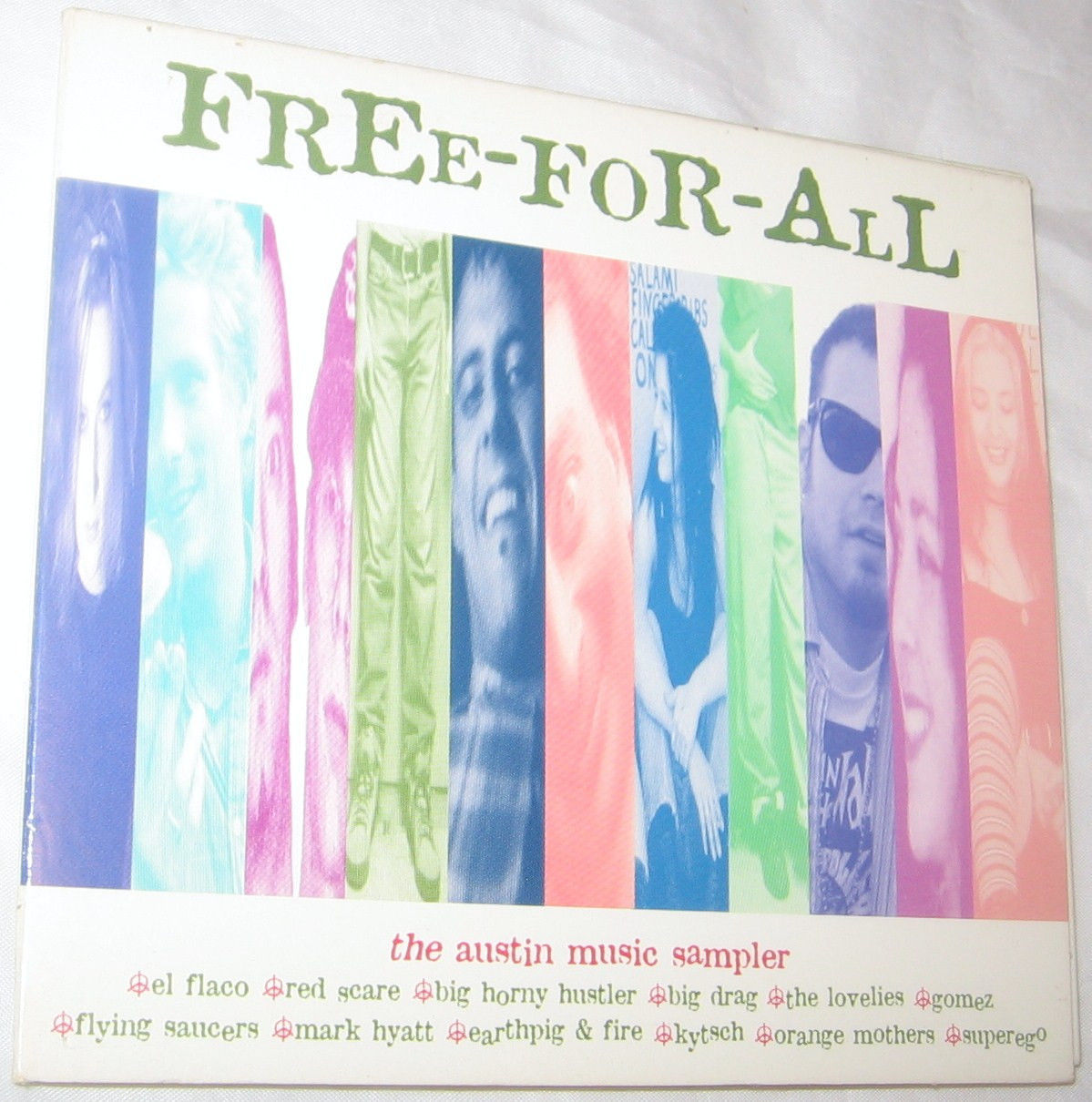 Primary image for Free For All The Austin Music Sampler 1998, Various Artists Free Shipping U.S.A.