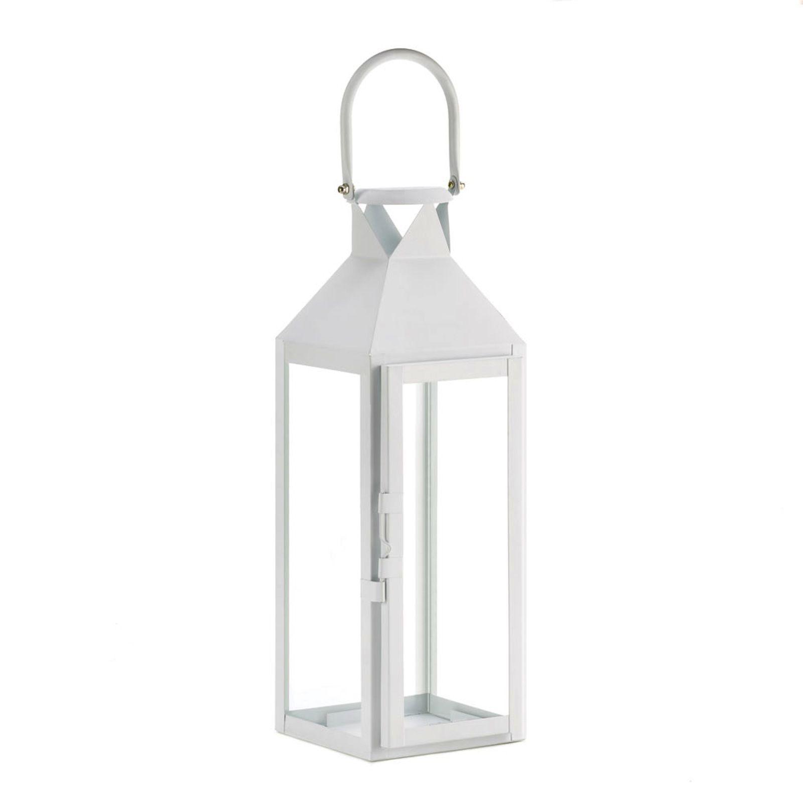 2 Large White Candle Lantern Wedding and 50 similar items