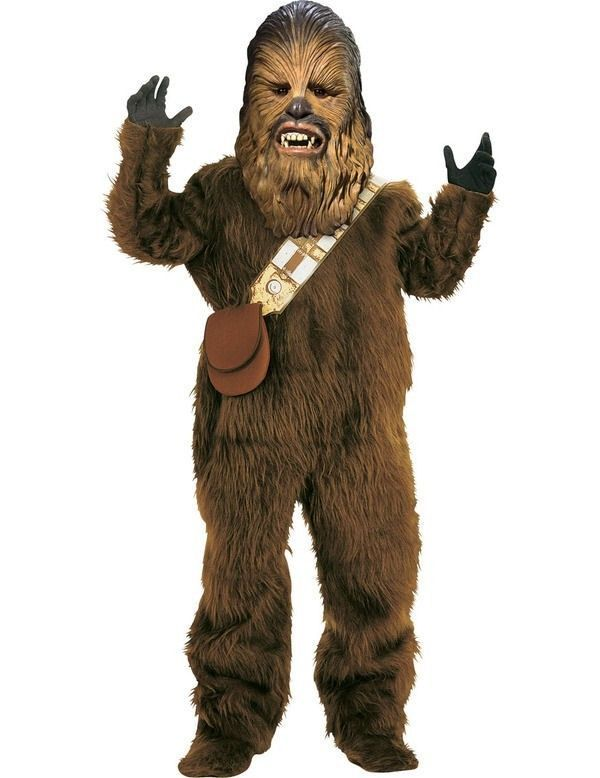 Primary image for Adult Deluxe Star Wars Chewbacca Costume Rubies 56107 New