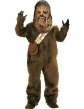 Adult Deluxe Star Wars Chewbacca Costume Rubies 56107 New - $197.99