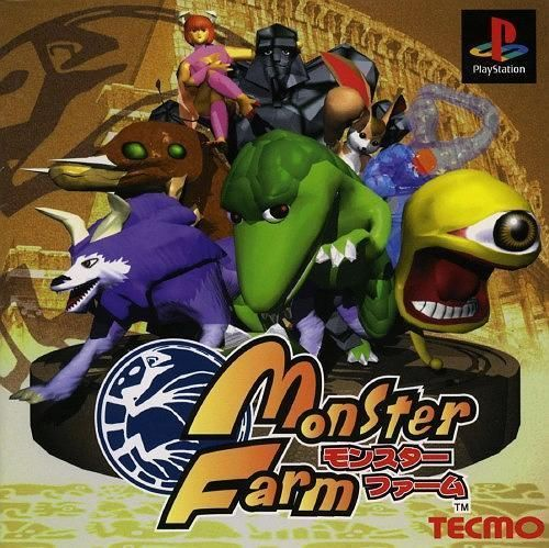Monster Farm v1, Sony Playstation One PS1, Import Japan Game