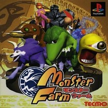 Monster Farm v1, Sony Playstation One PS1, Impo... - $24.99