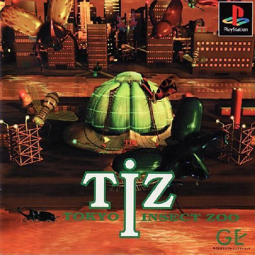 TIZ Tokyo Insect Zoo, Sony Playstation One PS1, Import Japan Game (SLPS-00123)