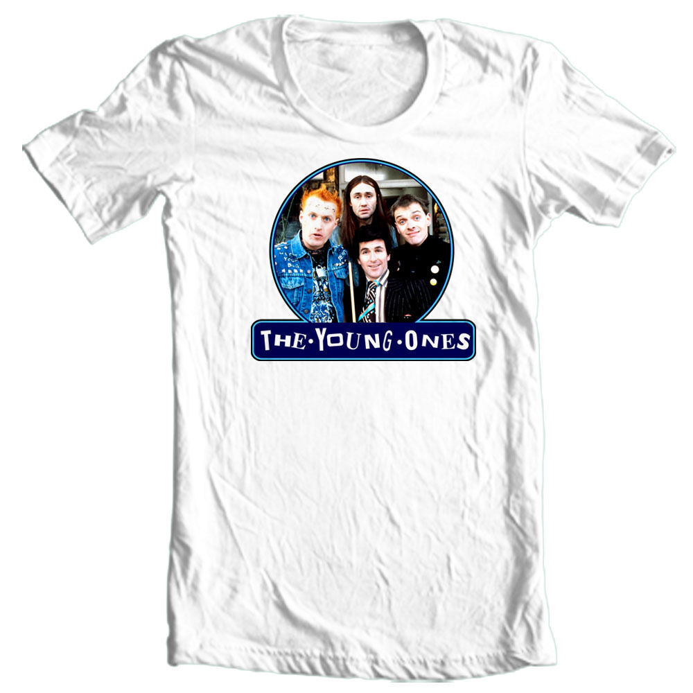The Young Ones T-shirt photo 80s UK Monty Python 100% cotton graphic tee