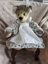 "Ganz Cottage Collectibles ""ALEXIS"" Teddy Bear w/Tag #CC1438 ~ Retired - $18.00"