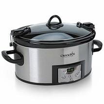 Crock-Pot 6-Quart Cook Carry Programmable Slow Cooker with Digital Timer... - $65.99