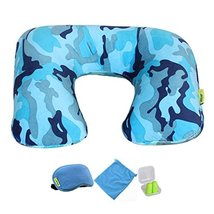 Comfortable Neck Pillow Travel Pillow With Sleep Mask And Earplugs G - $19.97