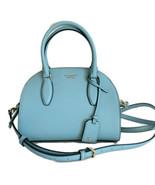 Kate Spade Reiley Mixed Material Medium Dome Satchel ~ Seaside Blue-Gree... - $144.95