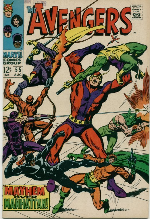 Primary image for Avengers (1963) # 55 FINE Condition Marvel Comics