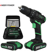 ANEERPOWER® New Style 25V Impact Drill Electric Hand Battery Cordless Ha... - $126.58+