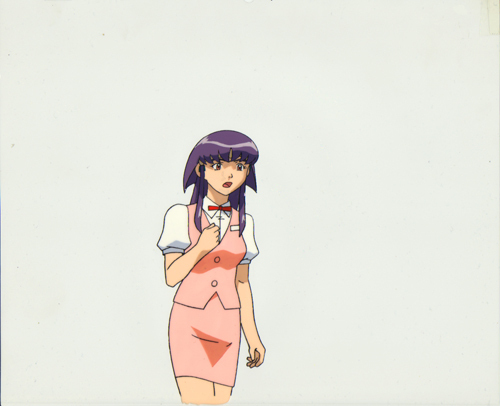 "Tenchi Muyo 3rd Movie ""Waitress Ayeka"" Anime Cel (0235)"