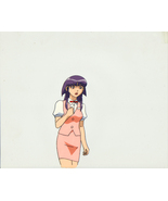 "Tenchi Muyo 3rd Movie ""Waitress Ayeka"" Anime Cel (0235) - $19.88"