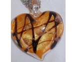 Morano orange heart pendant a thumb155 crop