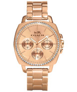 Coach 14502081 Rose Gold Plated Stainless Steel Multifunction Women's Watch - $159.50