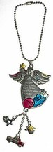 Gnz Color Art Car Charm Never Drive Faster Than Your Guardian Angel Can Fly - £3.01 GBP