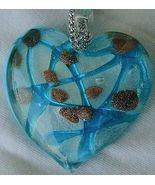 Morano turquoise heart pendant - $118.00
