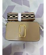 Marc Jacobs Snapshot Small Camera Bag Crossbody Bag Khaki Print Auth - $209.00