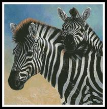 Zebra and Foal cross stitch chart Artecy Cross Stitch Chart - $14.40