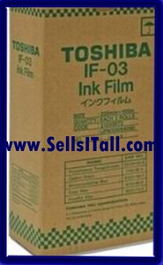 Primary image for Brand NEW Genuine Toshiba IF-03 Fax Film IF03