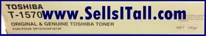 Primary image for Brand NEW Genuine Toshiba T-1570 Toner T1570