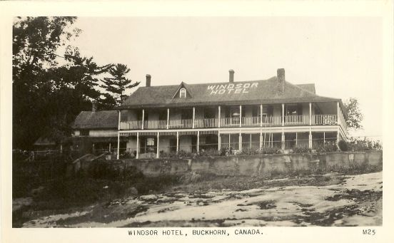Primary image for Photo Postcard   Windsor Hotel Buckhorn Ontario