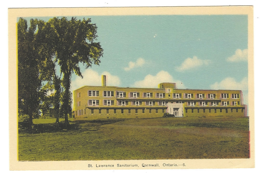 Primary image for Color  Postcard  St. Lawrence Sanitorium Cornwall Ontario