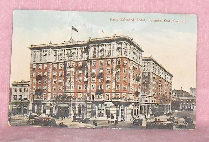 Primary image for King Edward Hotel   Toronto Ontario  Canada  Postcard