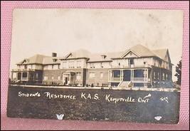 Photo Postcard Photocard Students Residence K.A.S. Kemptville Ontario, C... - $17.51