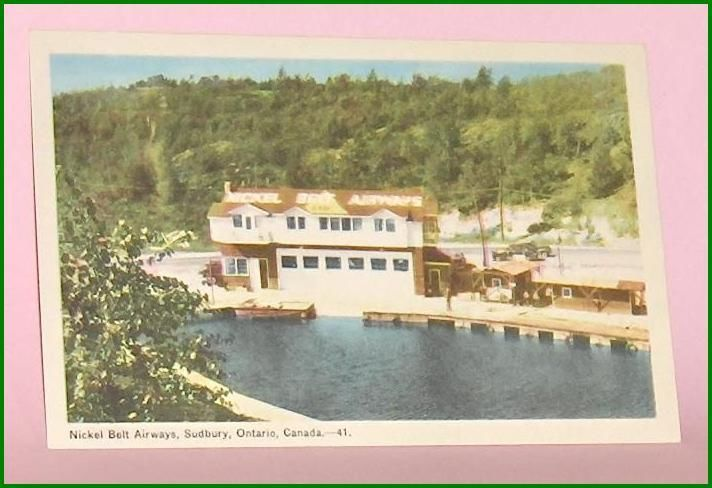 Primary image for Color Postcard Nickel Back Airways Sudbury Ontario