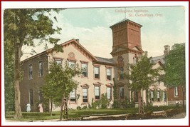 Collegiate Institute  St. Catharines Ontario Canada  Postcard - $12.75